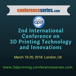 2nd International Conference on 3D Printing Technology &Innovations