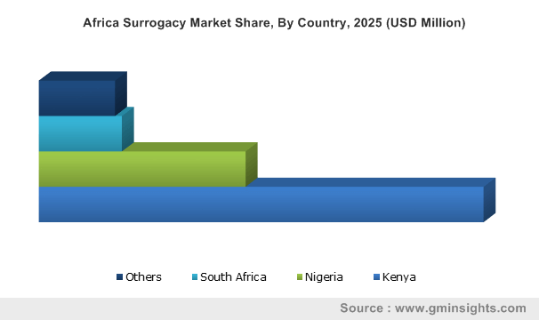 Africa Surrogacy Market By Country