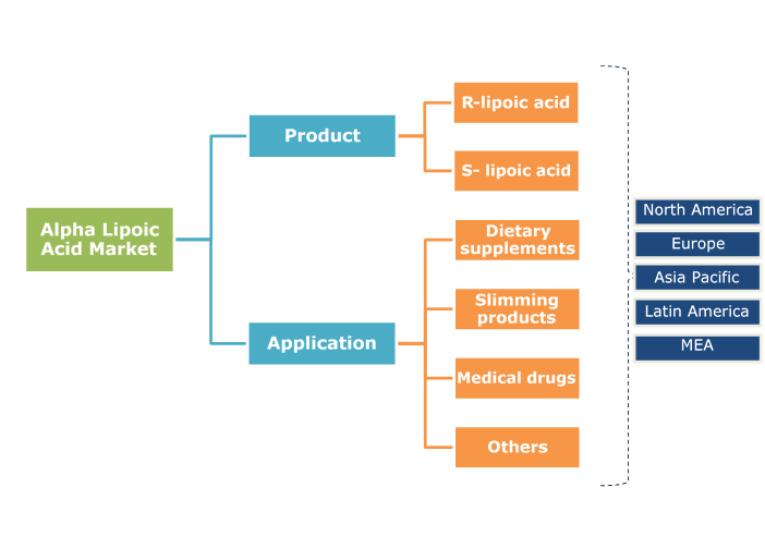 Alpha Lipoic Acid Market Segmentation