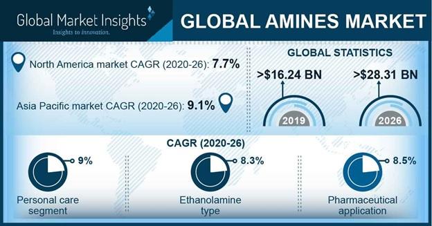 Amines Market Statistics
