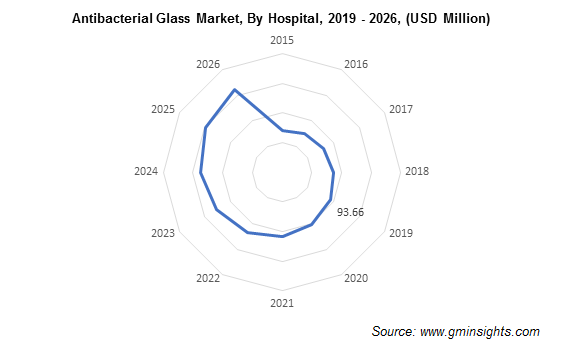 Antibacterial Glass Market by Hospital Segment