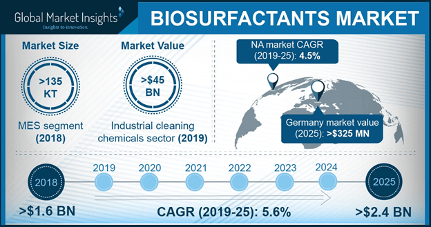 Germany Biosurfactants Market Size, By Applications, 2016 & 2024, (USD Million)