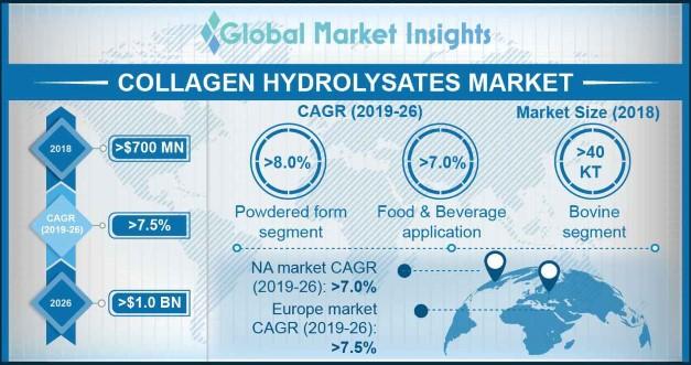 Collagen Hydrolysates market