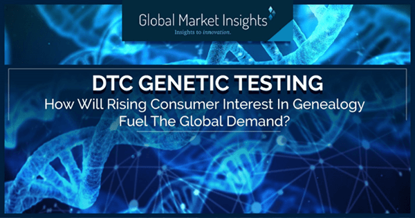 DTC genetic testing - How will rising consumer interest in genealogy fuel the global demand?