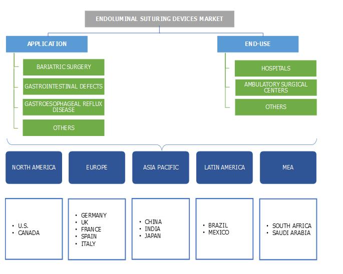 Endoluminal Suturing Devices Market segmentation