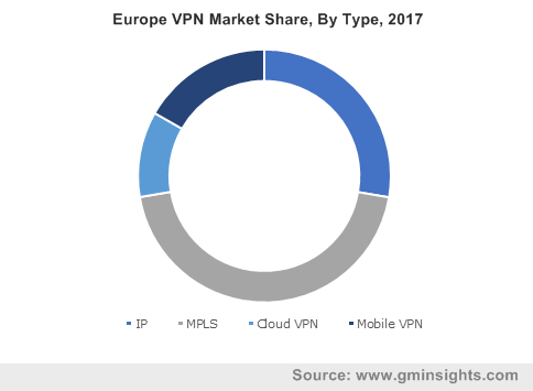 Europe VPN Market Share, By Type, 2017