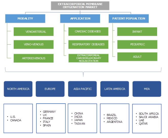 Extracorporeal Membrane Oxygenation Market Segmentation