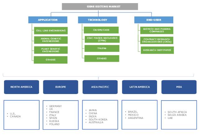 Gene Editing Market Segmentation
