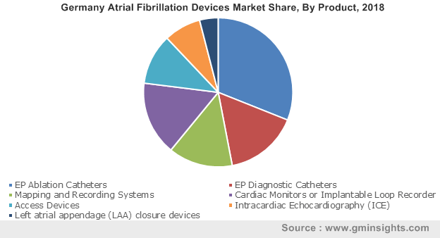 Germany Atrial Fibrillation Devices Market  By Product