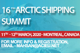 16th Arctic Shipping Summit