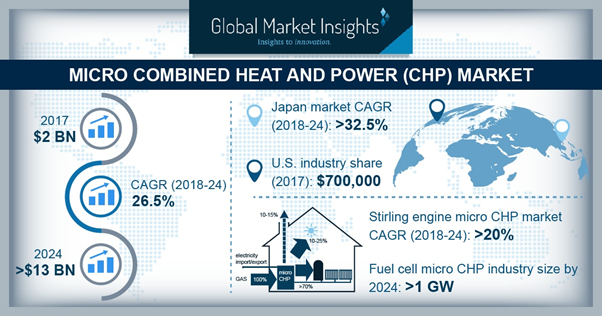 Europe micro combined heat and power market size, by fuel, 2017 & 2024 (USD Million)