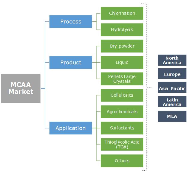 Monochloroacetic Acid (MCAA) Market Segmentation
