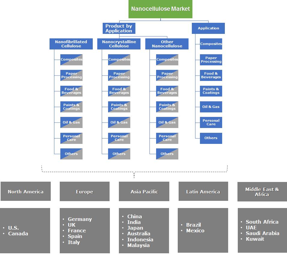 Nanocellulose Market Segmentation