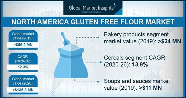 North America Gluten Free Flour Market