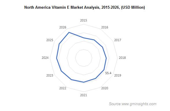 North America Vitamin E Market