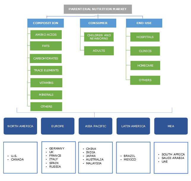 Parenteral Nutrition Market Segmentation
