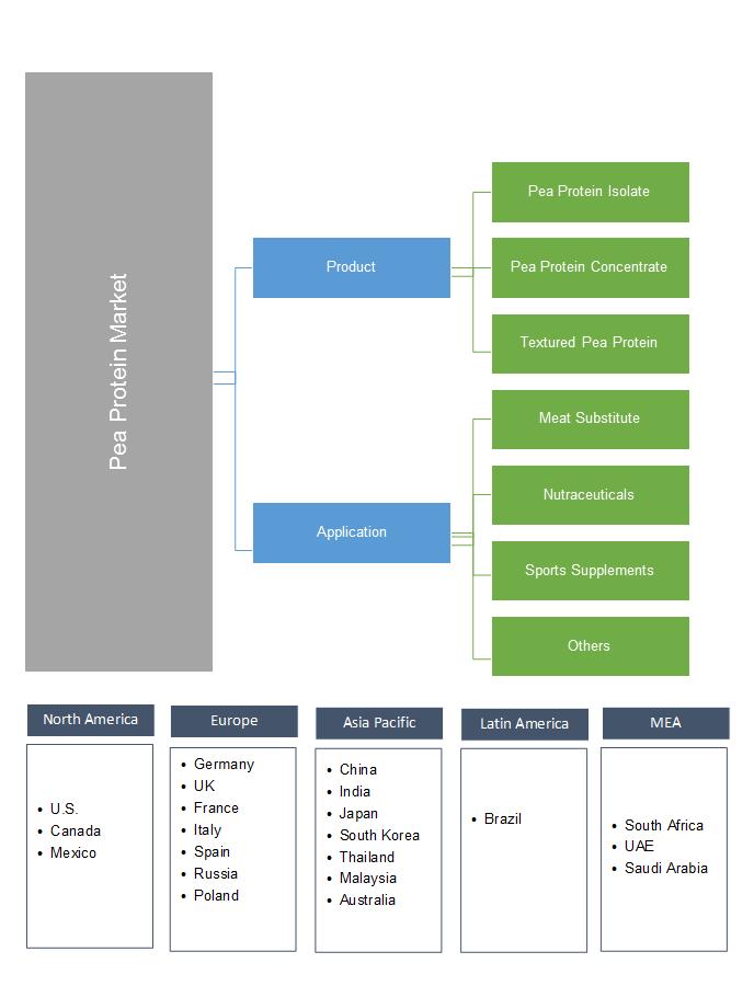 Pea Protein Market Segmentation