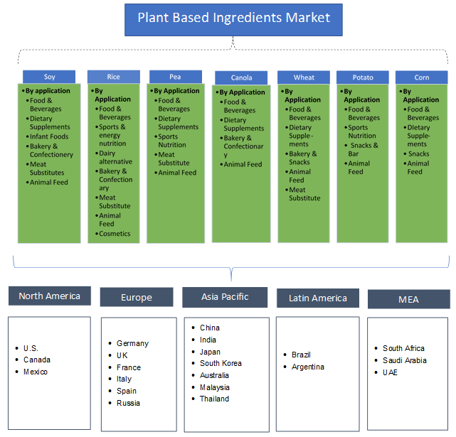Plant Based Ingredients Market Growth Outlook 2019-2025 Report