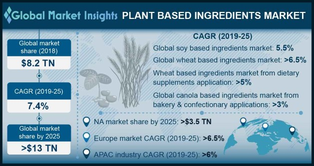 Plant Based Ingredients Market
