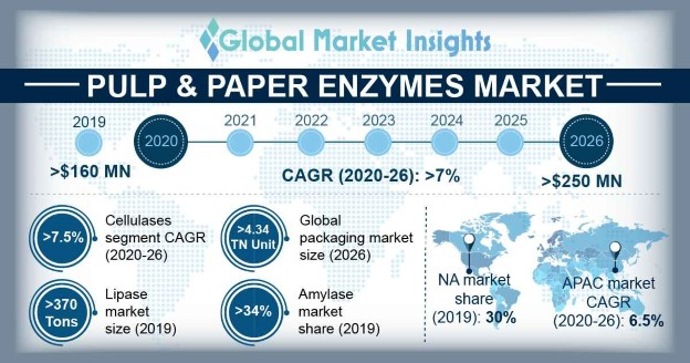 U.S. Amylases Pulp & Paper Enzymes Market, By Application, 2013-2024, (Tons)