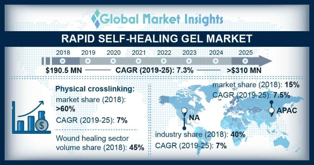 Rapid Self-healing Gel Market Outlook
