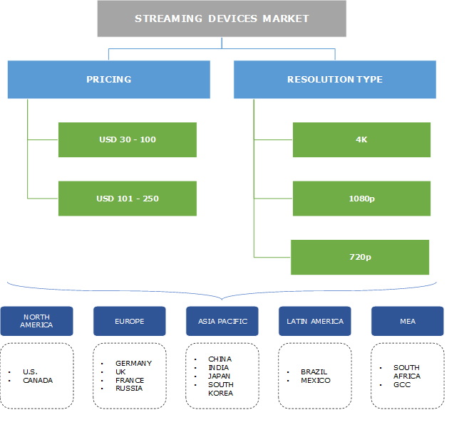 Streaming Devices Market Segmentation