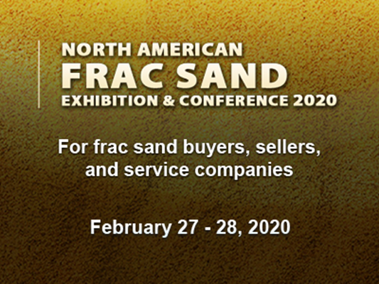 The North American Frac Sand Exhibition & Conference 2020