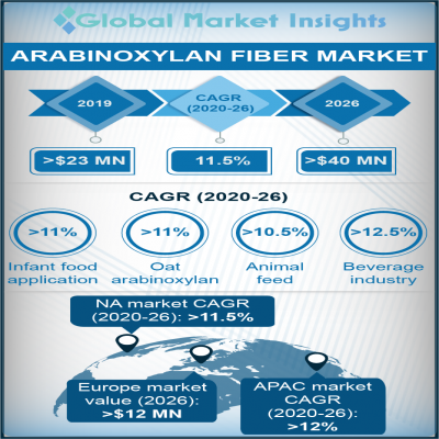 arabinoxylan fiber market